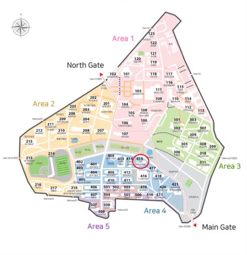 会场地图(学校标准)